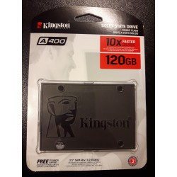 SSD Kingston 120gb SATA III Serie A400 TLC 7mm