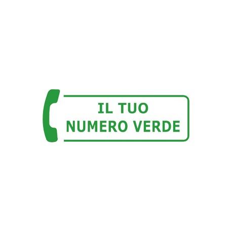 Numero verde Pacchetto completo